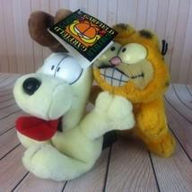Vintage Garfield And Odie Plush Doll Toy Dakin ... - $15.45