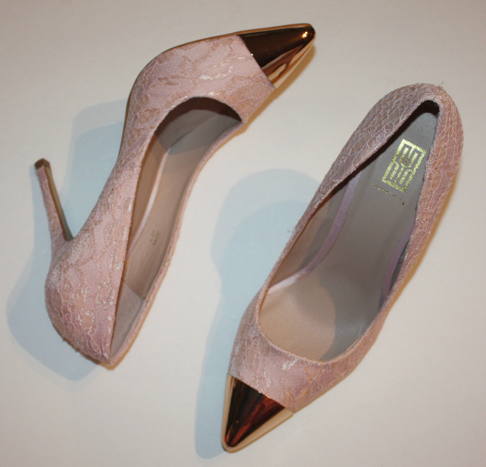 Shoedazzle Signature Issys Pink Blush Heels and similar items