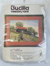 Bucilla Needlepoint Kit Country Scene Barn Landscape Fence 14 x 18 4283 - $43.65