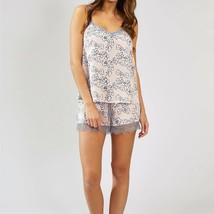 Pretty You London Womens Nightwear Shorts Floral in Blush Pink - XL - $40.00