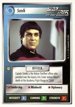 Star Trek CCG - Satelk - $0.75