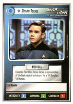Star Trek CCG - Simon Tarses - $0.69