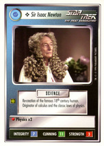 Star Trek CCG - Sir Isaac Newton - $1.19