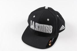 Neuf Échantillon Adidas la Roi Kings de Los Angeles Hockey Réglable Sort Out Hat - $22.22