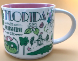 Starbucks 2018 Florida Been There Collection Coffee Mug NEW IN BOX - $26.00