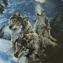 Lee Kromschroeder Wolf Plate Call of the Wild Moonlit Symphony 1st Issu ... - $29.45