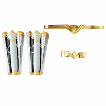 Wonder Woman Adult Accessories Tiara, Gauntlets, and Armband Kit Silver - $39.98