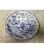 Vintage, Rare, Royal Albert, England Variant Blue Willow Bowl 6.5in x 2in - $28.45