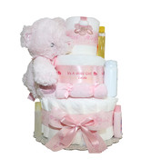 It's a Girl Personilized 3 Tier Diapercake - $160.00