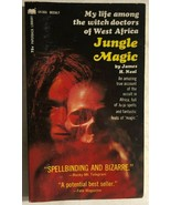 JUNGLE MAGIC African Witch Doctors by James H. Neal (1969) Paperback Lib... - $13.85