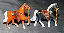 Metal Horses (Group of 2) AA20-2455 Vintage