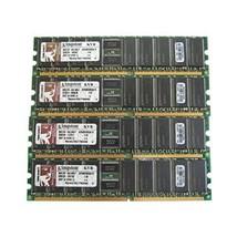 Kingston KVR400D8R3A/1G 1GB PC3200 DIMM DDR-400MHz ECC Reg CL3 184-Pin Memory Pa