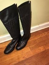 Michael Kors Black Leather Boots - $28.05