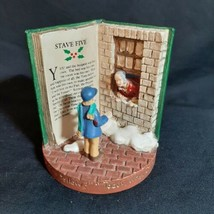 Russ Berrie A Christmas Carol Figurine 13980 Stave Five Whats Today Scrooge Lad - $123.74