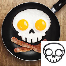 Silicone Skull Egg Frying Mold Breakfast Pancake Mould Kitchen Cooking Tool - $7.09