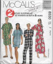 Misses Nightgown, Men's Sleepwear, Nightshirt Pajamas, Long Short Sleeve... - $11.00