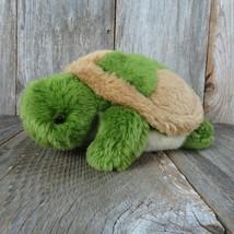 Turtle Tortoise Plush Weighted Unipak Green Brown Stuffed Animal Pillow - $22.76