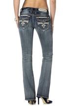 Rock Revival Women's Premium Boot Cut Denim Jeans Rj8146B80 Celine B80 image 2