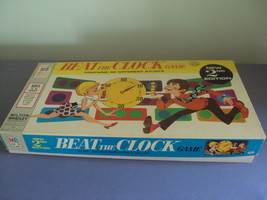 Vintage 1969 Beat The Clock Board Stunt Game Milton Bradley - $19.99