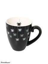 Starbucks Barista Halloween Black Hanging Spiders Coffee Mug Cup 2002 - $29.09