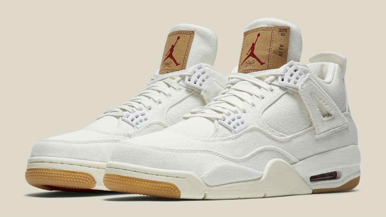 6e3a5563e37 Levi's X Air Jordan 4 Retro Sneakers NRG and 26 similar items