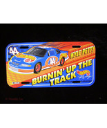 Kyle Petty Hot Wheels License Plate Cardboard Plastic Wall Sign - $14.99