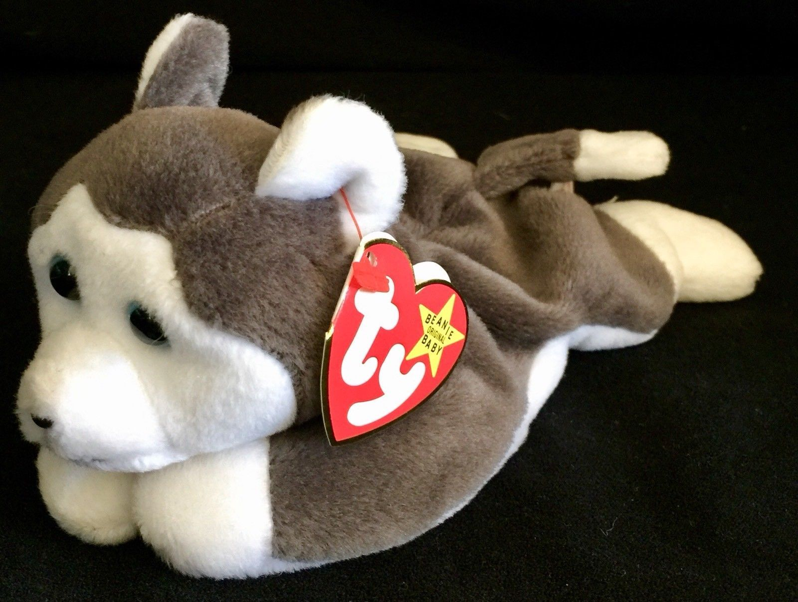 1996 Ty Beanie Baby NANOOK Plush Gray and and 23 similar items. S l1600 5bd3af3f6d4a