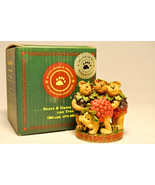 Boyds Bears & Friends: Fran Oscar Barney & Stu - 02004-21 - Bearstone Co... - $15.45