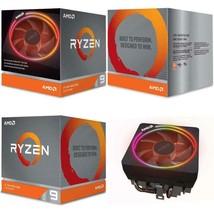 AMD Ryzen 9 3900X 12-core 24-thread unlocked desktop processor Wraith Prism LED - $550.51