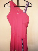 WOMENS NIKE VICTORIA AZARENKA BREAK POINT WATERMELON TENNIS DRESS SZ MED... - $61.37