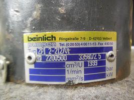 BEINLICH HYDRAULIC PUMP ZPI-2-212/Vi # 2200500 image 3