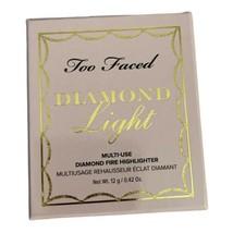 Too Faced Diamond Light Multi-Use DIAMOND FIRE Highlighter New in The Box - $20.79
