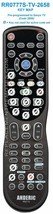 New Anderic Tv Remote Control RR0777S Pre-programmed To Sanyo (RR0777S-TV-2658) - $19.95