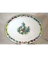 """Royal Worcester 2009 Herbs Rosemary Oval Platter 15"""" - $56.69"""