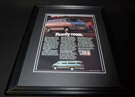 1985 Dodge Ram Maxiwagon Framed 11x14 ORIGINAL Vintage Advertisement B - $32.36