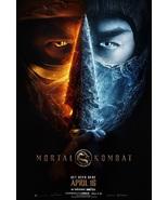 "Mortal Kombat Poster 2021 Simon McQuoid Film Art Print Size 24x36"" 27x40... - $10.90+"