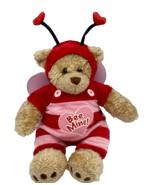 "NWT Build-a-Bear Workshop ""BEE MINE"" Jacket  Overalls +Wings+Teddy Bear    - $24.65"