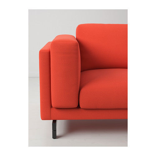 Ikea Nockeby Slipcover For Loveseat With Right Chaise Risane Orange Cover Only Slipcovers