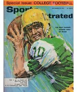 1963 Sports Illustrated September 23-George Mira;Lefty Grove;Texas Footb... - $17.10