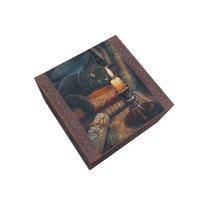 6.25 Inch Witching Hour Tarot Card Jewelry/Trinket Box Figurine - £11.63 GBP