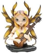 Golden Guitar Fairy Strangeling Figurine 7949 - £14.24 GBP