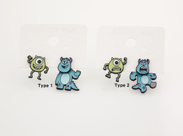 Monsters, Inc Stud Earrings , Mike and Sully Ea... - $17.50