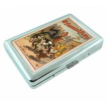 Vintage Poster D131 Silver Cigarette Case Holder McFaddens Flats An Awfu... - $9.85