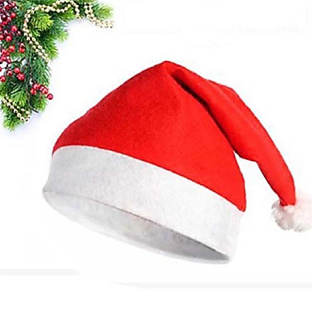 Christmas Hat Red Unisex Adult - One Hat