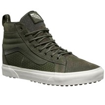 Vans Sk8 Hi 46 MTE DX Tact Black Suede Outdoor Skate Shoes Mens Size 8.5 - £68.16 GBP