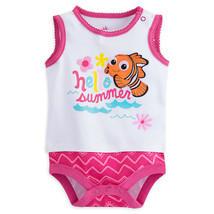 """Disney Store Finding Nemo """"Hello Summer"""" Sleeveless Bodysuit for Baby Girls - $13.50"""