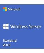 Windows Server 2016 Standard 64 bit Product Key - $59.00