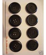 Corozo Nut  JONES NY 36/ 4 Hole COAT BUTTON  LO... - $18.00