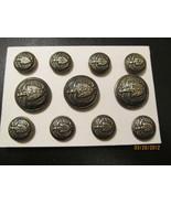 RALPH LAUREN Metal BLAZER BUTTON Set Coat Shank... - $23.00