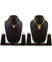 Womens Trendz Combo Pack of Two Traditional, Ethnic and Antique 24K Gold Plated  - $44.00
